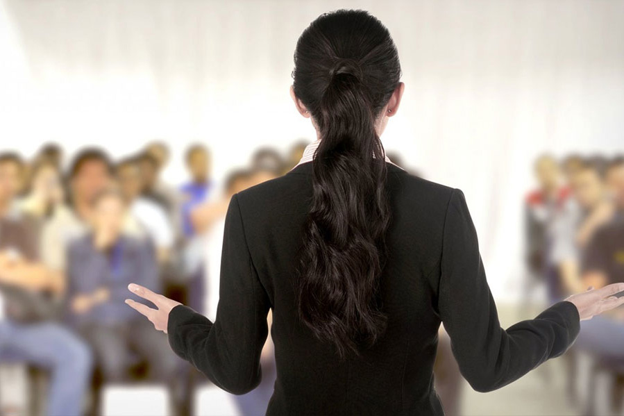 Feature image for Inc article Self-aware Public Speaking